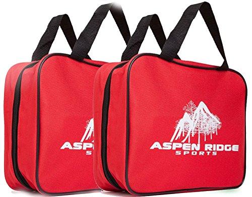 2 Pcs First Aid Kit For Trauma Injury, Auto Emergency Kit, 72 pcs First Aid kit including trauma shears, large