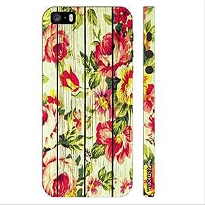 Apple IPhone 5/5S Subtle Blossom designer mobile hard shell case by Enthopia