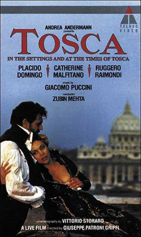 Puccini: Tosca - In the Settings and at the Times of Tosca  [VHS]