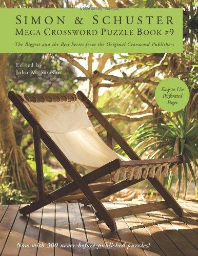 Simon & Schuster Mega Crossword Puzzle Book #9