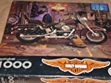 Harley-Davidson Official Licensed Product – 1994 Puzzle Motorcycle in garage with gear, leathers and tools – 1000 interlocking pieces – when assembled is full 24″ x 30″ – Part Number PZL6183. Does not identify model. by NYC Leather Factory Outlet