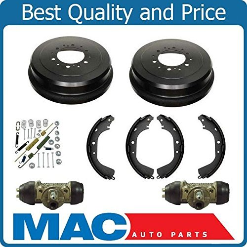 Mac Auto Parts 144080 Rear Brake Drums Shoes Spring Kit Wheel Cylinder For 4 RUNNER Pickup Tacoma T1 (Toyota Tacoma 4 Cylinder Parts compare prices)