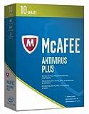 Software - McAfee AntiVirus Plus 2017 - 10 Geräte Minibox [Online Code]