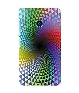 Fuson 3D Printed Pattern Designer Back Case Cover for Nokia Lumia 530 - D1033
