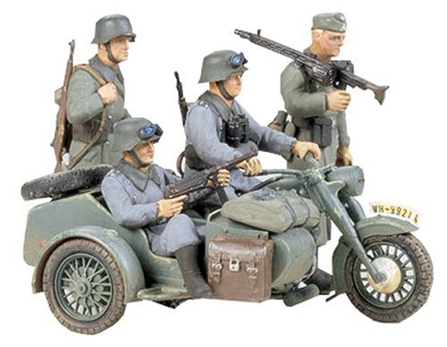 Tamiya 1/35 BMW R75 w/Side Car TAM35016 - 1