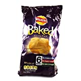 Walkers Baked Variety Crisps 6 Pack 150g