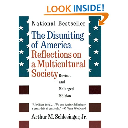 "the disuniting of america thesis Does ethnic diversity portend the disuniting of america whether or not ""the first universal nation"" of ben wattenberg (buchanan 466) fixes its meaning."