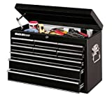 Stack-On SPC-1209 Professional Series 9 Drawer 26-Inch Top Chest, Black
