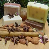 (4 Soap Bars) Four Bar Variety Pack Soaps Goat Milk - Coffee- Citrus - Butter Milk- Lavender- Oatmeal (3 Oz) Bar ~ Natural Handcrafted...