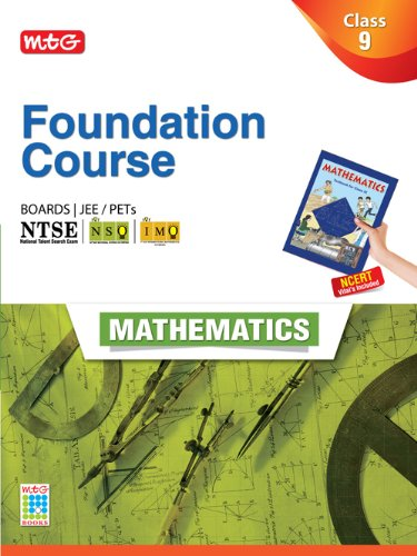 MTG Foundation Course for JEE/Olympiads - Class 9  Maths