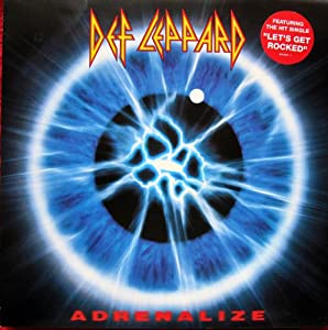 ADRENALIZE VINYL LP ORIGINAL INNER[510978-1] 1992 DEF LEPPARD