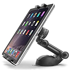 iOttie Easy Smart Tap 2 Car Desk Mount for Apple iPad Air 2, iPad Mini 3, Samsung Tablets (Black)