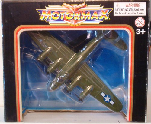 B-17 Flying Fortress Diecast Metal by Motormax