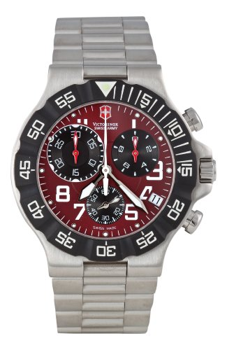 Victorinox Swiss Army Men&#8217;s 241342 Summit XLT Chrono Watch