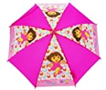 Dora The Explorer Pink Butterfly Umbr...
