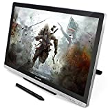 Huion GT-220 v2 Pen Display 21.5 Inch IPS Tablet Monitor with Enhanced Linearity and Accurate Cursor Positioning for Mac and PC