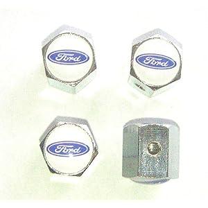 Ford Anti-theft Car Wheel Tire Valve Stem Caps