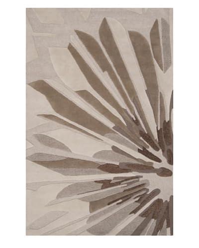 Surya Candice Olson Modern Classics Rug, Grey/Green/Brindle/Espresso, 5' x 8'