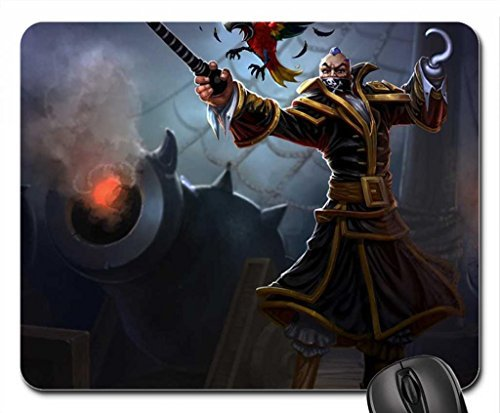 Swain Bilgewater Mouse Pad, Mousepad (10.2 x 8.3 x 0.12 inches)
