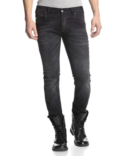 Pierre Balmain Men's Engineered Slim Jeans