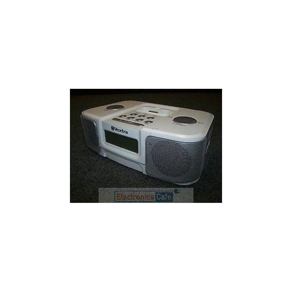 Vextra AM/FM Alarm Clock Radio iPod Dock