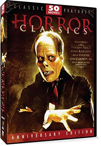 DVD : Horror Classics (Anniversary Edition, Amaray Case, 12 Disc)
