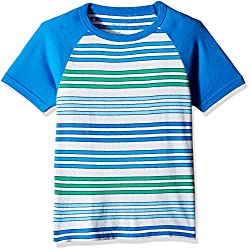 The Children Place Boys Short Sleeve Striped T-Shirt (2060901_Simplywht_3Y)