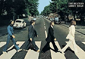 (19x27) The Beatles Abbey Road 3-D Music Poster Lenticular Print