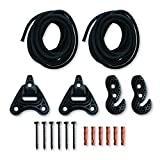 LA SIESTA UNIVERSAL ROPE [UR-H3]Suspension set for flexible installation of a hammock on walls, ceilings, beams or between trees. easy installation triangular shape with 3 holes for optimal weight distribution patented SmartHooks for easy adjustment ...