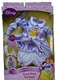 Disney Princess Royal Nursery Purple Princess Playdate Outfit for Baby Doll