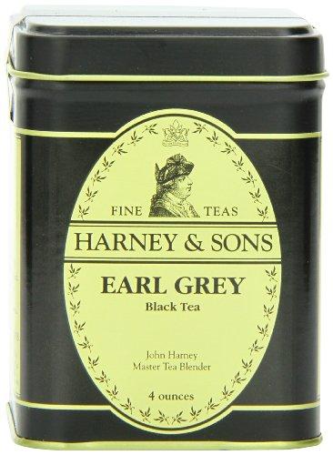 Harney & Sons Earl Grey Loose Leaf Tea, 4 Ounce Tin