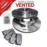 Brake discs VENTED Ø 256 MM + Brake pads front axle VW LUPO 6X1, 6E1 1.4 16V, 1.4 TDI, 1.4 FSI, 1.7 SDI,1.6 GTI 2000-05; VW POLO 6N 6N1 6N2 1.6 16V GTI 1998-01