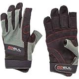 Gul Summer 3 Finger Gloves - Black/Charcoal