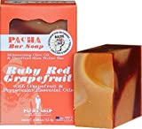 Pacha Soap Company Ruby Red Grapefruit 4 Oz. Natural Soap
