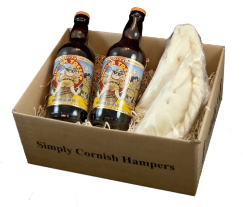 Simply Cornish Hampers Pasty & Ginger Tosser Box