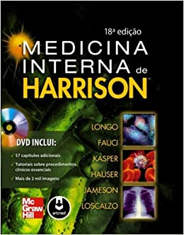 Medicina Interna de Harrison - 2 Volumes (Em Portuguese do Brasil