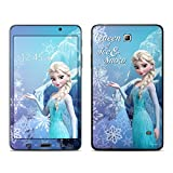Queen of Ice and Snow Design Decal Skin Sticker for Samsung Galaxy Tab 4 SM-T230 7 inch Tablet(High Gloss)