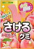 味覚糖 さけるグミ シャインピーチ 7枚×10袋