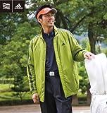 【大きいサイズ】ADIDAS GOLF フルジップジャケット (オリーブ) (2XO 3XO 4XO 5XO)