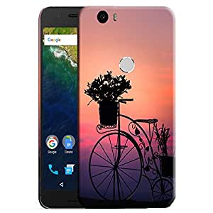 Theskinmantra Bucket Cycle back cover for Nexus 6P