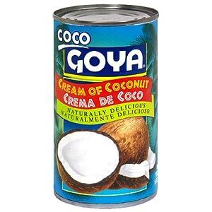 Amazon.com : Goya Cream Of Coconut - Crema De Coco 7 oz : Coconut ...