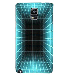 SAMSUNG GALAXY NOTE 3 BARS Back Cover by PRINTSWAG