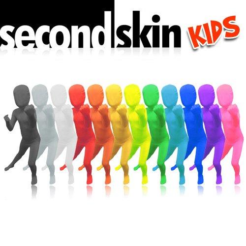 SecondSkin Kids Full Body Lycra Suit - 3 Sizes, 20+ Colors/Patterns