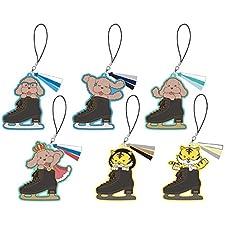 ユーリ!!! on ICE スケートシューズチャーム BOX商品 1BOX = 6個入り、全6種類