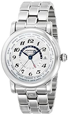 [Mont Blanc] MONTBLANC watch STARWORLDTIME white dial automatic winding 106465 Men's parallel import goods]