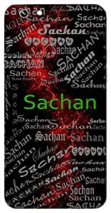 Sachan (Friendly) Name & Sign Printed All over customize & Personalized!! Protective back cover for your Smart Phone : Moto X-STYLE