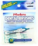 Plackers Interdental Brushes, 10 Count