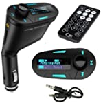 NEW WIRELESS CAR FM RADIO MP3 TRANSMI...