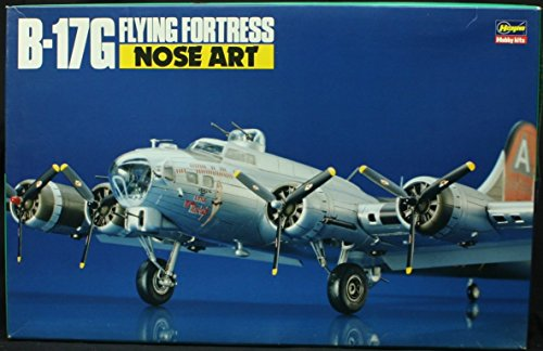 Hasegawa 1:72 B-17G Flying Fortress Nose Art Model Kit #51523 (SP23)
