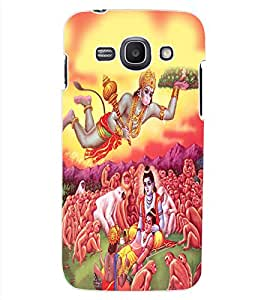 ColourCraft Lord Hanuman Design Back Case Cover for SAMSUNG GALAXY ACE 3 S7272 DUOS